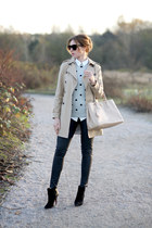 JCrew sweater - Zara coat - Prada bag - Topshop pants