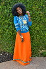 Carrot-orange-wewe-clothing-myself-dress