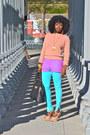 American-apparel-sweater-joes-leggings-chiffon-blouse