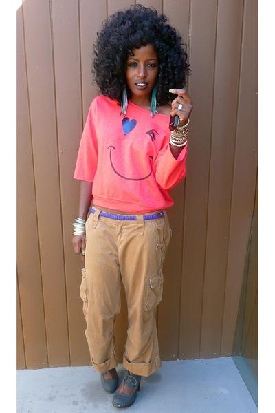 Khaki Cargo Pants Outfits