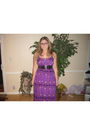 Purple-elle-dress