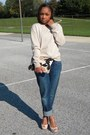 Joes-jeans-jeans-gap-sweater-love-cortnie-bag-gap-belt-aldo-heels