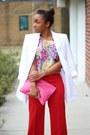 Ann-taylor-blazer-love-cortnie-bag-forever-21-top-express-pants