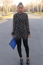Equipment blouse - Love Cortnie bag - bcbg max azria pants - Vince Camuto heels