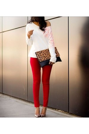 red red jeans unknown jeans