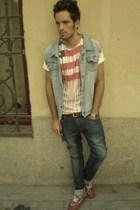 Levis t-shirt - Diesel jeans