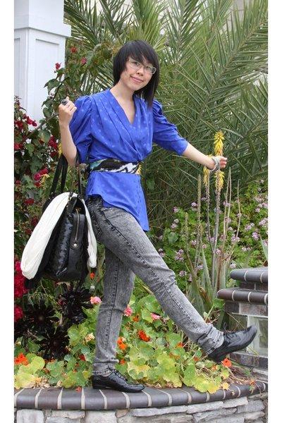 blouse - jeans - shoes