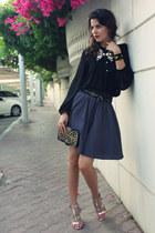 Susanna Vesna bracelet - vintage bag - Zara blouse - collar NL Fashion necklace