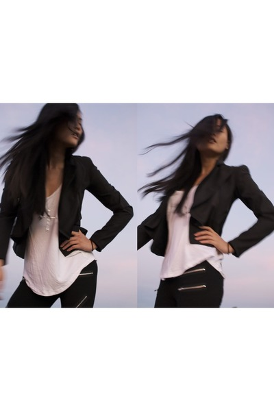 Black An Ode to No One jacket - SusieSan's blog - Chictopia