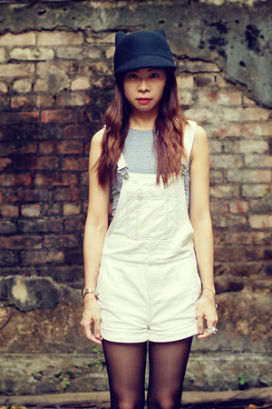 Monki hat - Alexander Wang shoes - Topshop jumper - American Apparel top