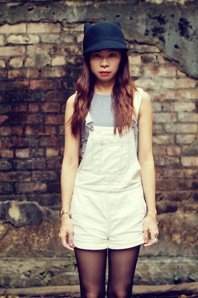 Monki hat - Alexander Wang shoes - Topshop jumper - American Apparel top