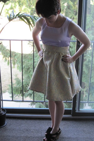 amethyst homemade dress