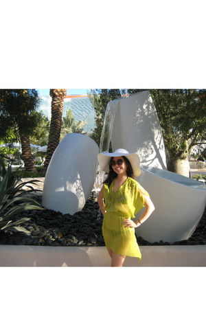 H&amp;M dress - H&amp;M swimwear - from Boracay hat