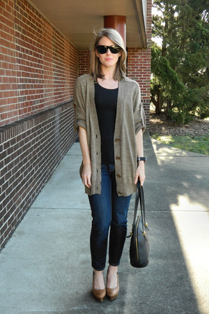 banana republic jeans - See by Chloe thrifted sweater - H&M shirt