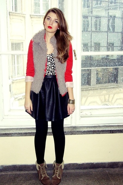 red red H&amp;M blazer