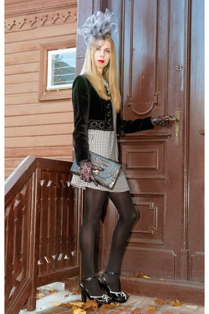 christian dior vintage jacket - emporio armani heels