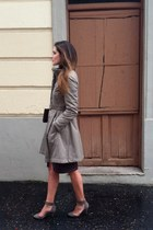 Zara shoes - purificación garcía coat - Acosta bag - River Woods skirt