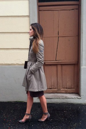 Zara shoes - purificacin garca coat - Acosta bag - River Woods skirt