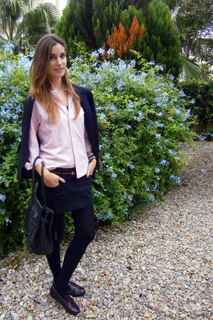 Polo Ralph Lauren t-shirt - tintoretto blazer - Mango skirt