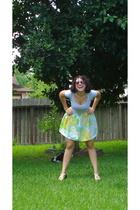 forever 21 shirt - by me skirt