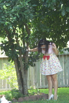 Charllote Russe shirt - Seam Sew Swell skirt - BCB Girl shoes