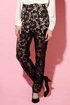 Cameo // Brakelight Lace Pants