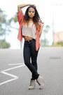 Beige-h-m-boots-black-forever-21-jeans-camel-forever-21-shirt