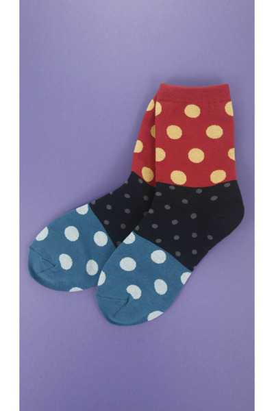 d005 dots socks TPRBTCOM socks