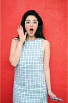 Forever 21 dress - Firmoo White Frames glasses
