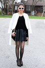 White-zara-coat-black-zara-sweater-black-zara-bag-olsenboye-sunglasses