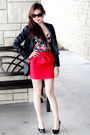 Leather-jacket-topshop-jacket-peplum-charlotte-russe-skirt