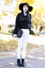 Zara-boots-black-h-m-sweater-plaid-forever-21-shirt-31-phillip-lim-bag