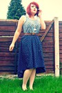 Dip-hem-tk-maxx-skirt-newlook-shoes-primark-belt-floral-topshop-blouse