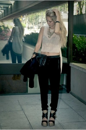 H&M Trend shirt - Nine West bag - H&M Trend pants - JAMES bracelet