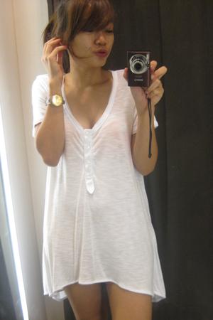 Zara blouse - Swatch accessories