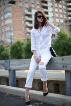 Gap jeans - Jimmy Choo bag - Giuseppe Zanotti pumps