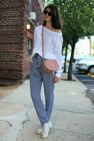 Mango top - Chloe bag - Mango pants