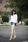 Guess-shorts-juicy-couture-sunglasses-gucci-heels