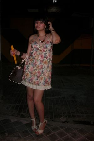 BLANCO shoes - Bershka dress - LV bag - H&amp;M necklace