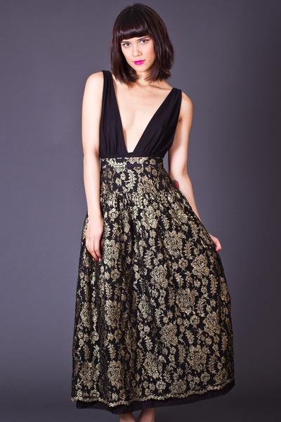 telltale hearts vintage skirt