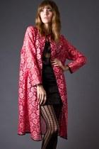Hot Pink Telltale Hearts Vintage Coats