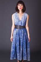Vintage Acid Wash Maxi Dress