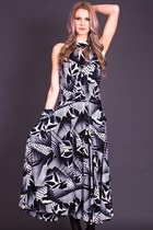 Vintage Escher Maxi in Black & White