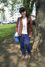 Light-brown-oxfords-gate-shoes-blue-denim-co-jeans-brown-atmosphere-jacket