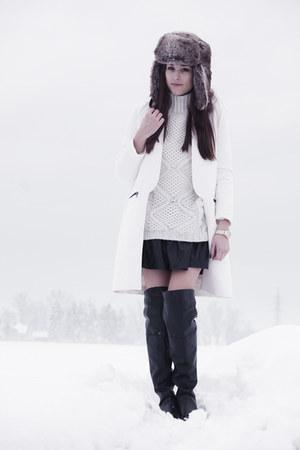 Zara coat - LavishAlice skirt