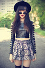 Oasap-hat-overknee-oasap-tights-round-sunglasses-theeditorsmarket-skirt