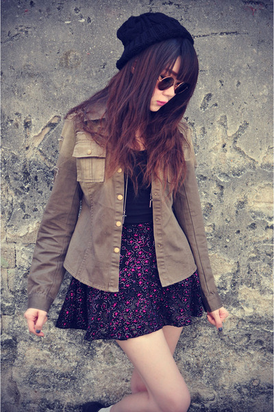 denim jacket Choies jacket - o-mighty skirt