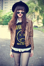 Udobuy-boots-oasap-hat-ianywear-jacket-inlovewithfashion-shirt