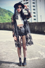 Dr-martens-boots-oasap-hat-topshop-shorts-younghungryfree-cardigan