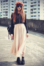 Theeditorsmarket-bag-choies-top-lookbookstore-skirt-creepers-flats